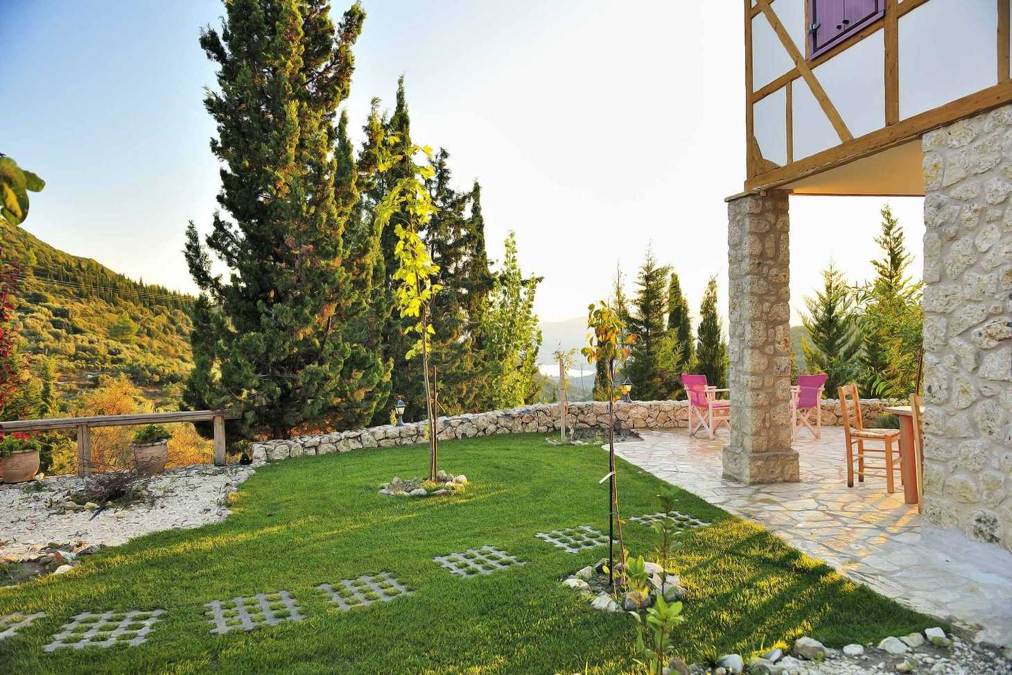 Orfeas eco villa stunning views private lefkada